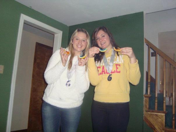 See??  1/4 Marathoners DO deserve Jell-O shots!  YUM!