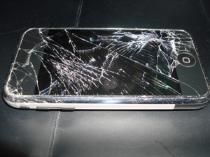 Broken Cell Phone