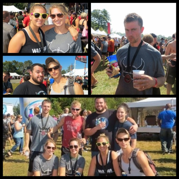 Warrior Dash Party Pic!