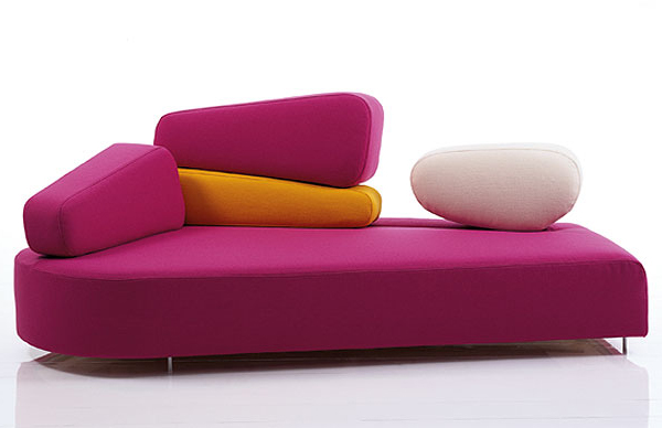 Modern Pink Couch