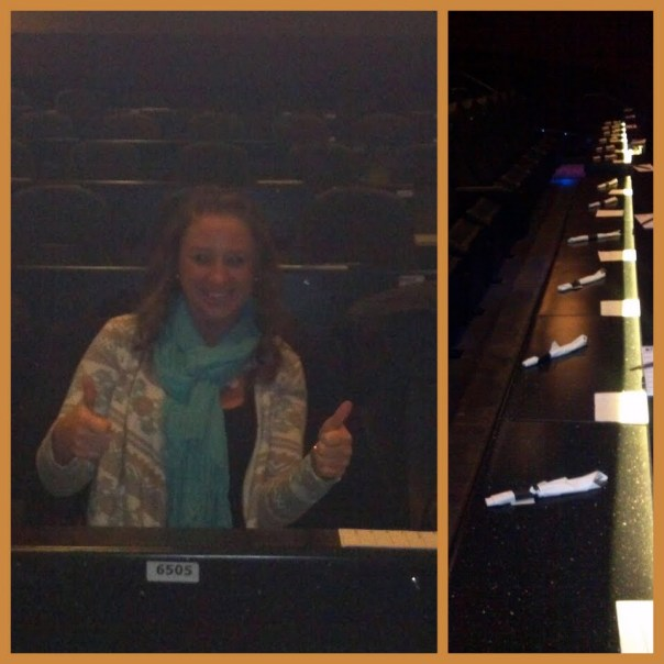 Clearly I was excited for the movie! :)