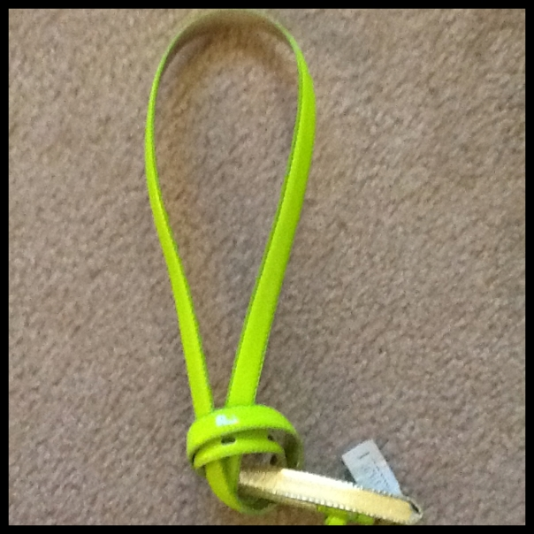 Neon Yellow Belt