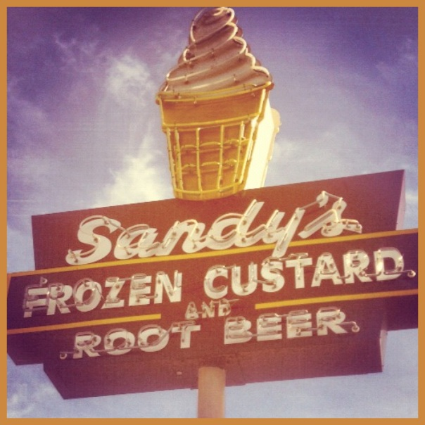 Sandy's Frozen Custard!