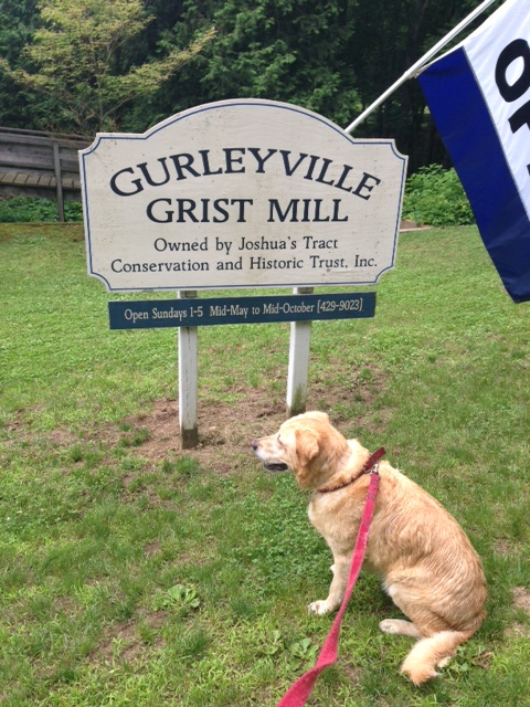 grist mill sign